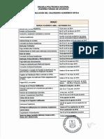 Reformulacion Calendario Academico 2016 a r