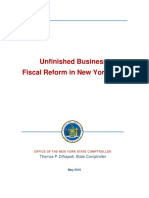 DiNapoli Fiscal Reform Report