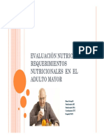 Evaluacion Nutriciona Adulto Mayor