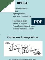 Presentación de Óptica