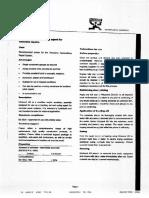 Nitobond Ar Technical Data