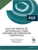Guia fontes Informacao para Editores Cientificos