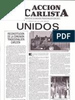 Acción Carlista 3er Trimestre 1986