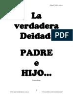 001.- La verdadera Deidad.- Padre e Hijo....pdf