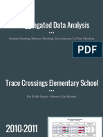 disaggregated data analysis
