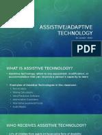 assistive technology- sidney byrd