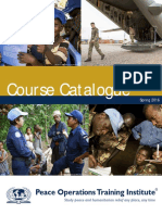 POTI Course Catalogue