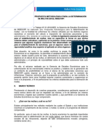 Comentarios a La Propuesta Metodológica Para La Determinación de Multas en El Indecopi