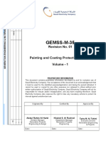 Gemss m 35 r01 Painting & Coating Protection System