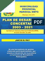 Expo 04 - Ajuste de PDC MPMN