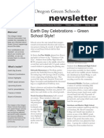 Oregon Green Schools Newsletter, Spring 2002, Earth Day Celebrations – Green School Style