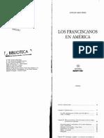 Abad, A. Los franciscanos en America.pdf