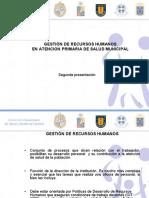 Gestion de Recursos Humanos en APS Municipal