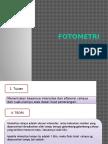 presentasi praktek = FOTOMETRI