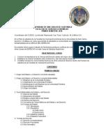 Programa Dederecho i Usac 2016
