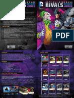 2014 Dc Batman vs Joker Rulebook