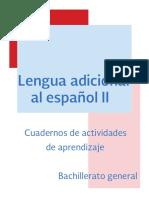 Lengua Adicional Al Espanol II Dgb