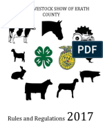 2017 jr livestock show erath co rulebook