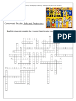 Jobs and Professions_crossword