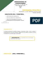 Hidratacion Oral y Pareteral Entrega