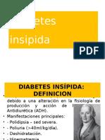 Diabetes Insipida- Def, Tipos, Fisiopato, ClinicaS