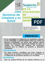Seguridad en La Utilizacion de Productos Quimicos