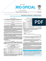 Diario oficial de Colombia n° 49.852. 22 de abril de 2016
