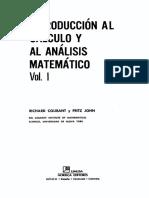 R Courant, F John - Introduccion Al Calculo Y Al Analisis Matematico Vol 1.pdf
