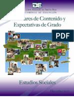 Est and Ares de Contenido y Expectativas de Estudios Sociales (2007)