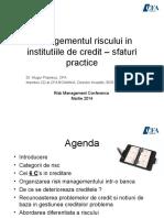 06 MugurP-Prezentare Conferinta Risk - Martie 2014