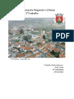 Planeamento Regional e Urbano de Belmonte