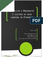 Report Bike Sharing Piemonte