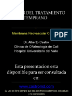 Membrana neovascular coroidea tratamiento temprano.pptx