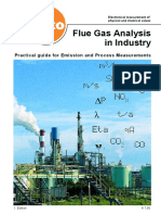 Fluegas Analisys in Industry