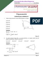 Cepresam Clase 2 2012 Trigonometría