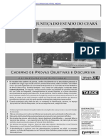 Cespe 2014 Tj Ce Nivel Medio Conhecimentos Basicos Todos Os Cargos Prova (1)
