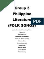 Group3 Philippine Literature FINAL DRAFT!