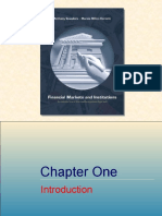 Chapter 01 Financial Markets and Institutions