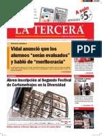 Diario La Tercera 11.05.2016