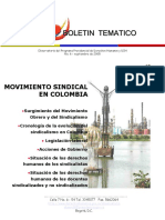 Movimiento Sindical en Colombia