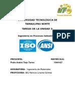 Normas en el diseño de producto y procesos industriales