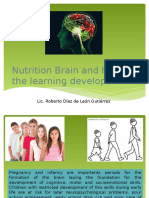 Nutrition Brain and How the Learning Develops