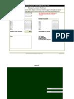 Breakeven Analysis Worksheet