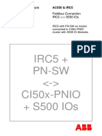 InfoPLC Net IRC5 Connection to S500 IOs via Profinet