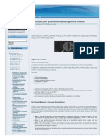 Introducción y Herramientas de Ingeniería Inversa