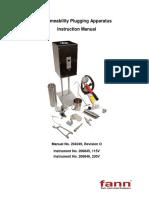 Permeability Plugging Apparatus