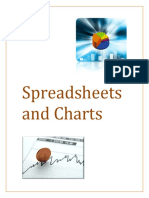 spreadsheets and charts