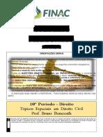 T Picos Especiais Em Direito Civil