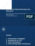 Countering Violent Extremism and Education