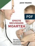 Efecte Secundare - Moartea. Dezvaluiri Din Interiorul Industriei Farmaceutice